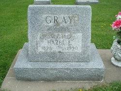 Hazel E <I>Simmons</I> Gray