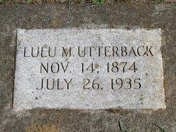 Lulu Mae <I>Hill</I> Utterback