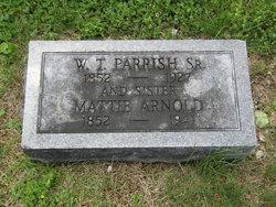 "Martha ""Mattie"" <I>Parrish</I> Arnold"
