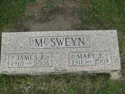 Mary E. <I>Sheltraw</I> McSweyn