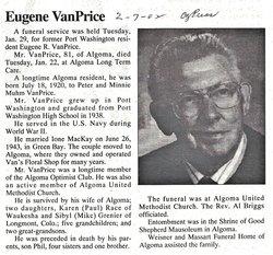 Eugene R. VanPrice
