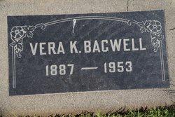 Vera <I>Kellis</I> Bagwell