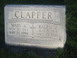 Ralph J Clapper