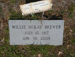 Willie <I>McKay</I> Brewer