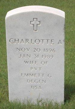 Charlotte A Degen