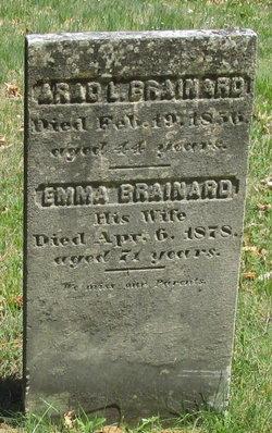 Emma <I>Chichester</I> Brainard