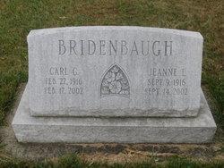 Jeanne L <I>Simpson</I> Bridenbaugh