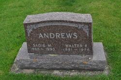 Sadie M <I>Rockwell</I> Andrews