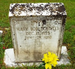 Mary Lou Boswell