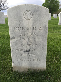 Donald Arch Aiton