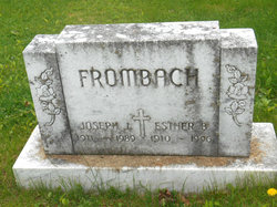 Esther Bertha <I>Stelling</I> Frombach