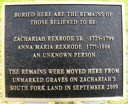 Zachariah Rexrode Sr.