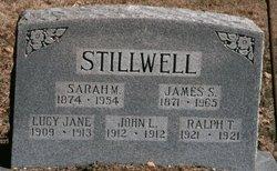 Sarah Matilda <I>Dennis</I> Stillwell