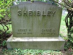 Henry Wilson Sheibley