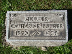 "Catherine May ""Kate"" <I>McIntosh</I> Luther"