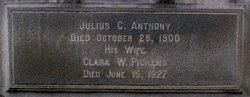 Clara Washington <I>Pickens</I> Anthony