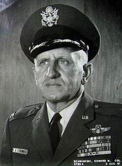 """Col Edward W. """"Jonesy"""" Szaniawski"""
