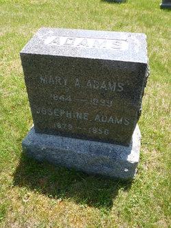Mary A. <I>Ball</I> Adams