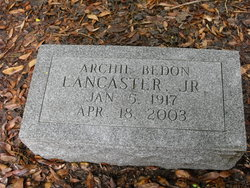 Archie Bedon Lancaster Jr.