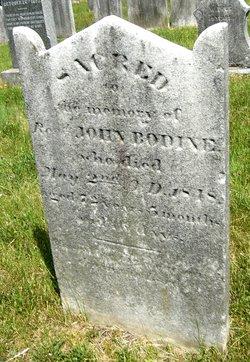 Rev John Bodine
