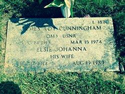 Elsie Johanna <I>Libell</I> Cunningham