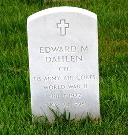 Edward M Dahlen