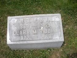 Clara M Biddle