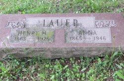 Henry Montz Lauer