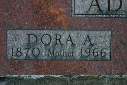 Dora Allen <I>Hulbert</I> Adams