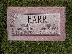 """John Robert """"Johnny"""" <I>Lee</I> Harr"""