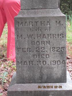 Martha Matilda <I>Holland</I> Harris