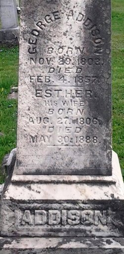 Esther <I>Miller</I> Addison
