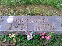 Maud <I>Emerson</I> Edmunds