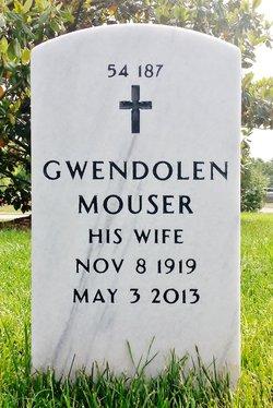 Gwendolen <I>Mouser</I> Gay