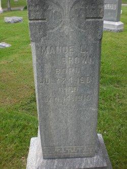 Maude Lillie Brown