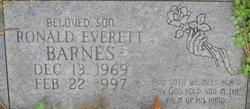 Ronald Everett Barnes