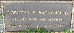 Dorothy E. Bachenberg