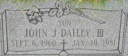 John J. Dailey, III
