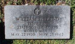 SSGT William E Bland