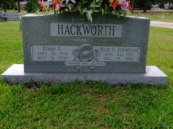 Hazel C. <I>Scrimshire</I> Hackworth