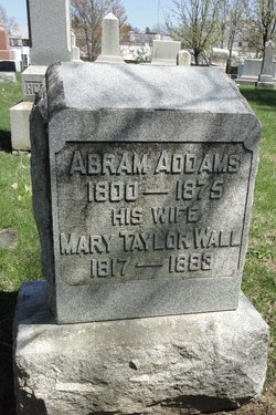 Mary Taylor <I>Wall</I> Addams