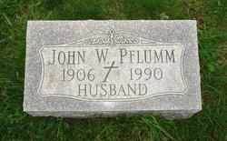 John W Pflumm