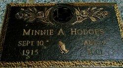 Minnie Addie <I>Davis</I> Hodges