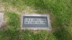 Lula <I>Jones</I> Riga