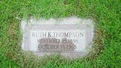 Ruth K Thompson
