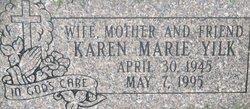 Karen Marie <I>Davenport</I> Yilk