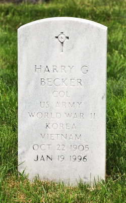Harry G Becker