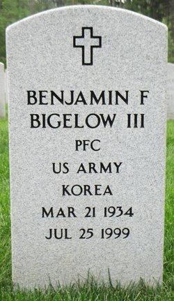 Benjamin Flagg Bigelow, III