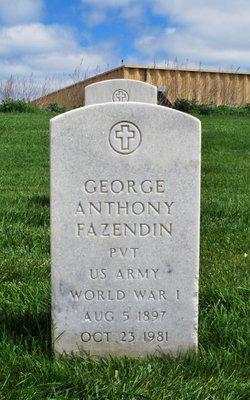 George Anthony Fazendin