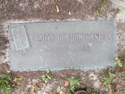 Gladys <I>Gordon</I> Daniels